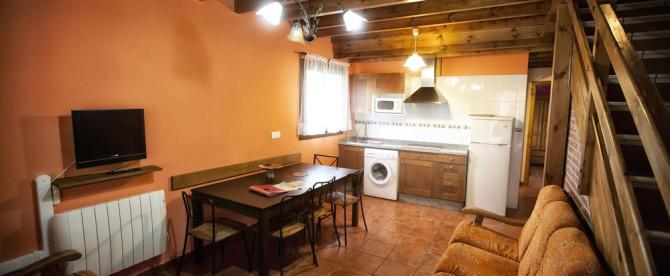 Apartamento de tres habitaciones (6/8 personas)