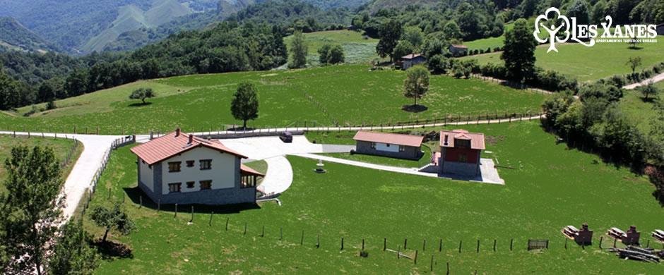 Apartamentos Rurales Les Xanes situados en los Picos de Europa (Asturias)